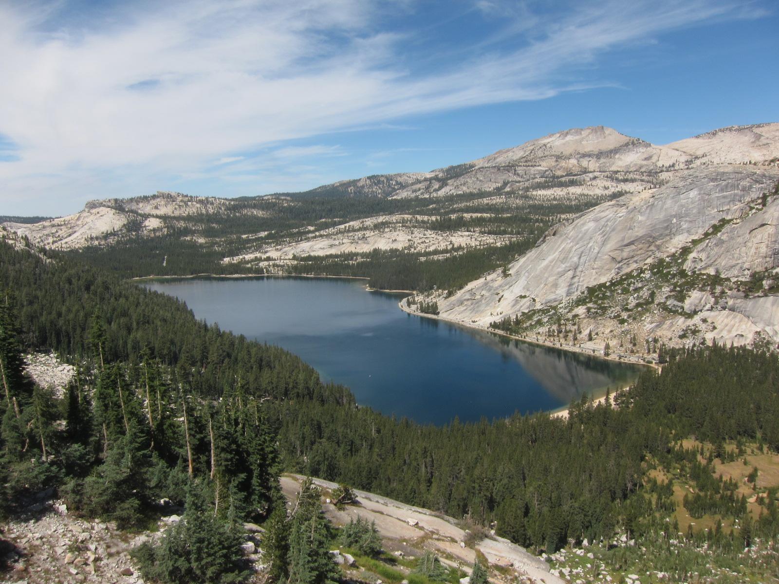 So much granite, Yosemite National Park