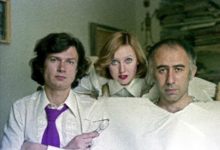 Елена Щапова, Эдуард Лимонов и Вагрич Бахчанян