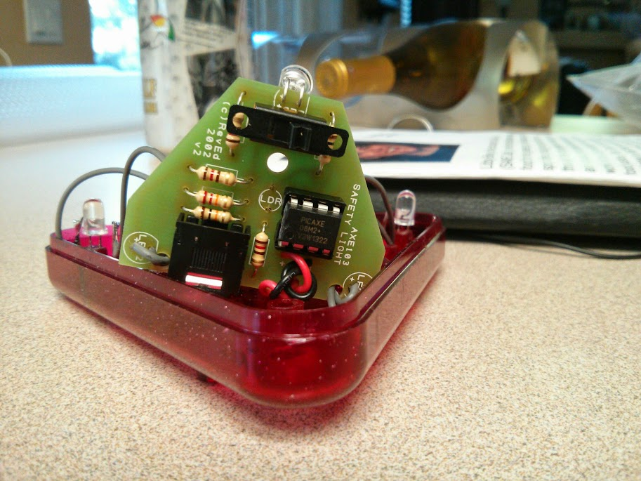 Image of picaxe safety light microprocessor kit