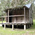 Kylies hut near Indian Head camping ground