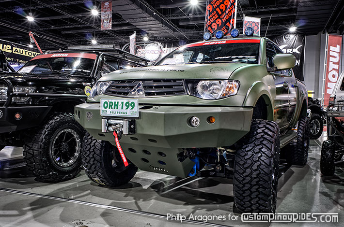 Mitsubishi Strada by 199 Off Road House Custom Pinoy Rides Philip Aragones Car Photography Manila Philippines