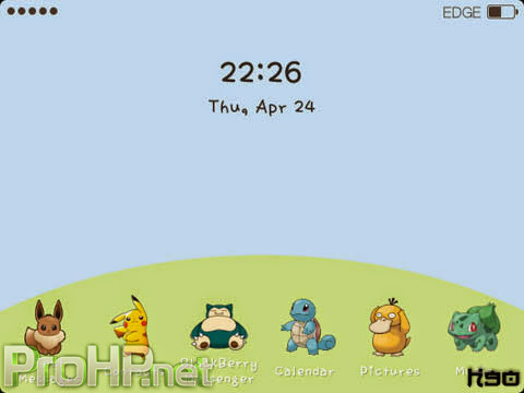 Custom icon Theme for BlackBerry Preview 1