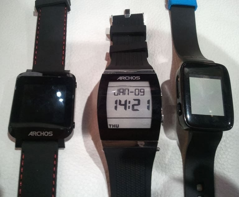 All 3 Archos smart watches