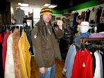 Jah Man!  We hit the vintage clothing stores in Columbus, MO today,