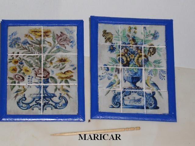El rincon mini de mary cuadros de azulejos para la terraza Azulejos para terrazas