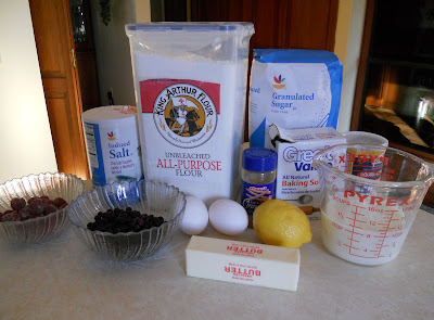 The Berry Muffin Ingredients