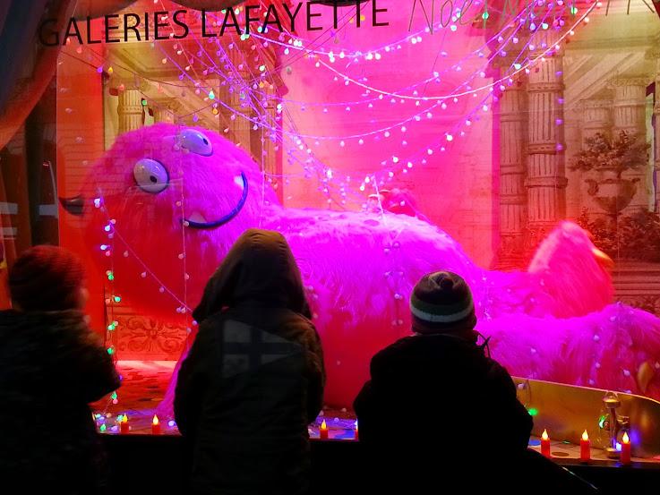 Galeries Lafayette Monster Window 2014