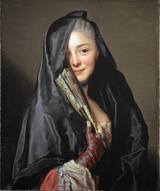 Alexander Roslin - The Lady with the Veil (the Artist's Wife) - Google Art Project