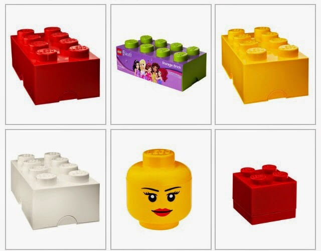 Lego Storage Boxes on Offer