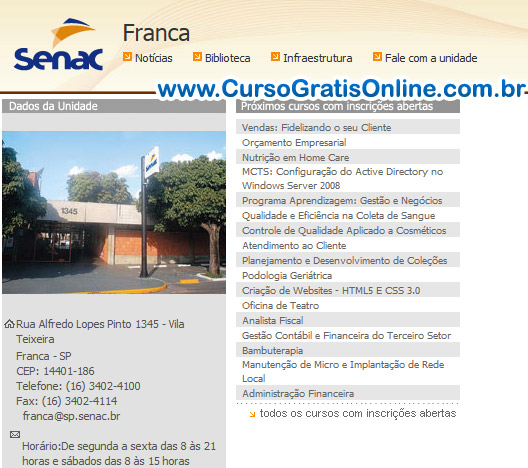 Senac Franca