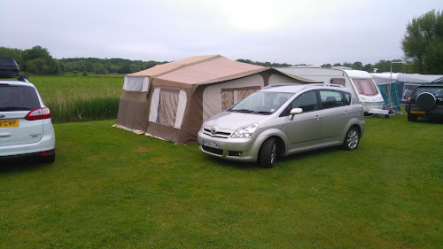 Camping  at Whitemead Caravan Park