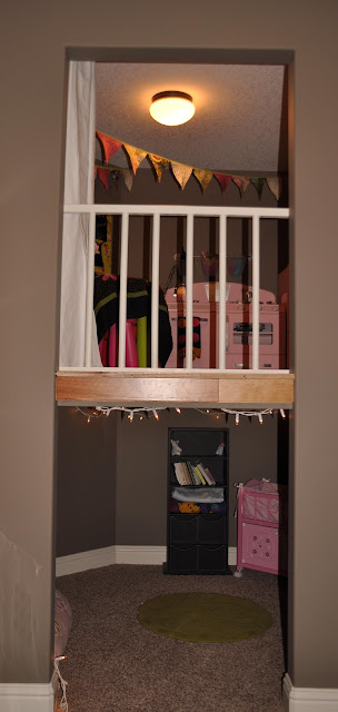 Timber and Lace: Indoor playhouse