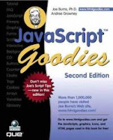 [Image: JavaScript Goodies Second Edition]