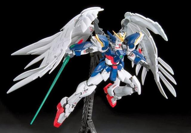 Wing Gundam Zero Endless Waltz RG 1/144 vô cùng đẹp mắt