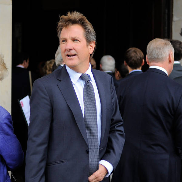 Former Hampshire cricketer and TV presenter Mark Nicholas attends the memorial Service for Tony Greig, in London, on June 24, 2013.