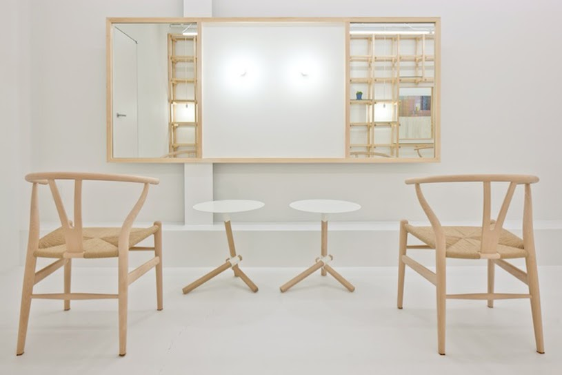 # end...Link 空間連結:Yasunari Tsukada在日本大阪的簡約木框架沙龍! 5