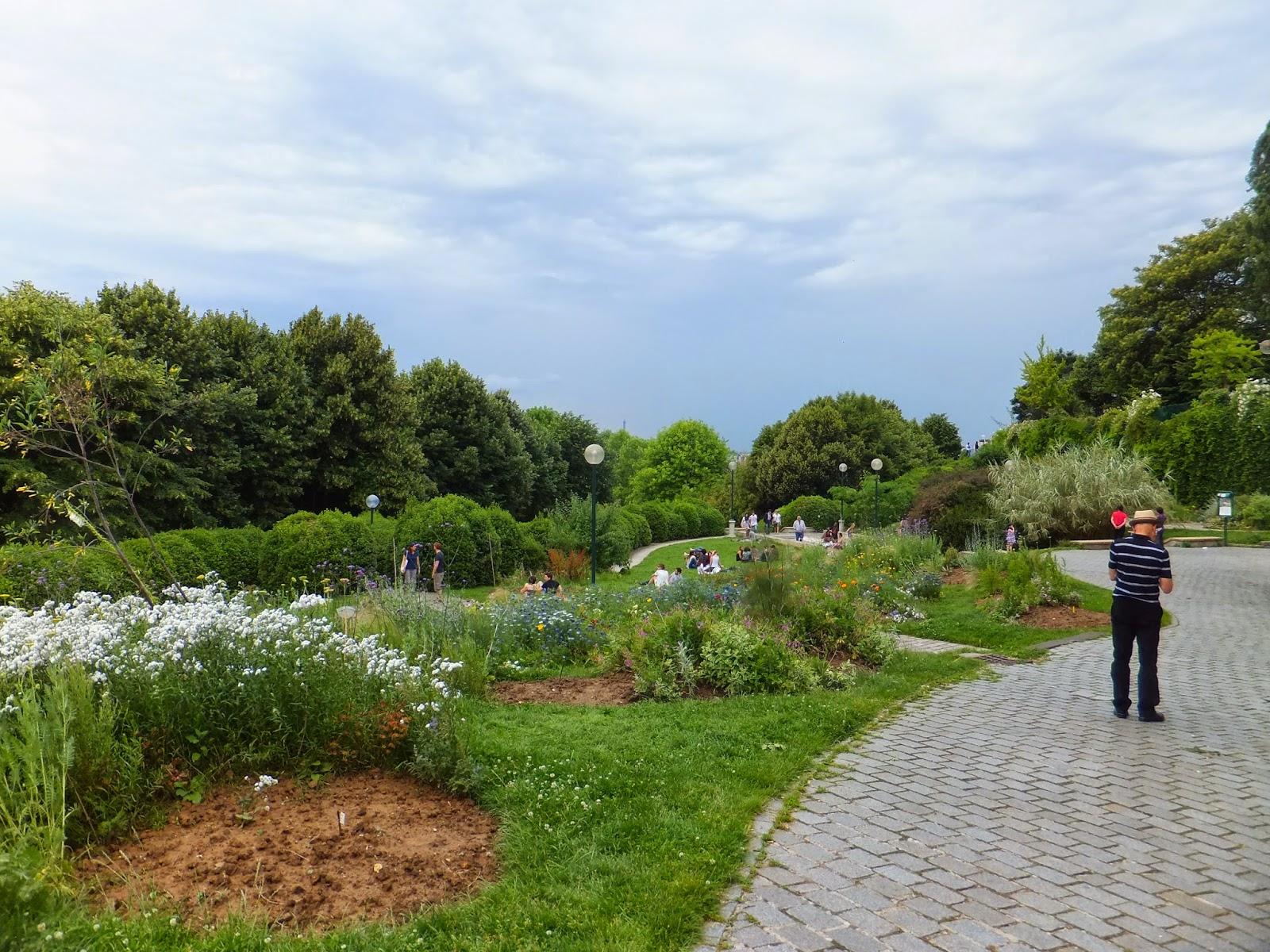 Parque de Belleville, París, Elisa N, Blog de Viajes