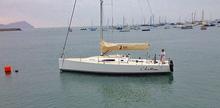 J/111 sailing Peru