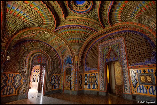 Reggello Italy  city photos gallery : The Peacock Room at Sammezzano Castle in Italy | Inspir3d