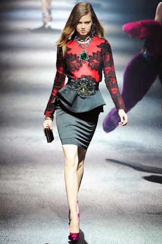 Falda tubo y Peplum, lo más trendy