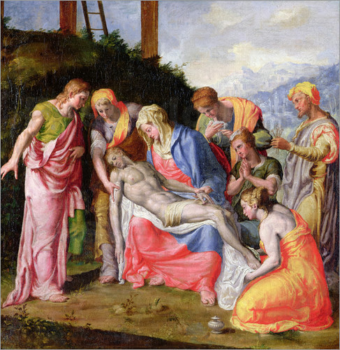 Prospero Fontana - Pieta