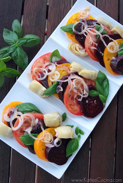 Beet & Tomato salad