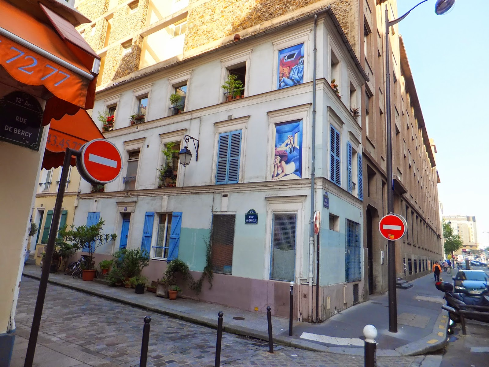 Rue Crémieux, París, Elisa N, Blog de Viajes Argentina