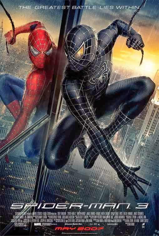 Poster Of Spiderman 3 (2007) Full Movie Hindi Dubbed Free Download Watch Online At alldownloads4u.com