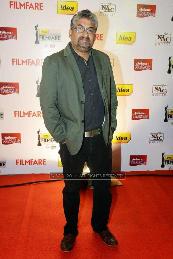 Shyamaprasad at the 61st Idea Filmfare Awards South, held at Jawaharlal Nehru Stadium in Chennai, on July 12, 2014.