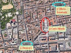 planimetria parcheggio p Carlo Alberto