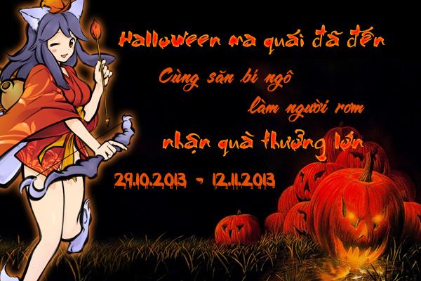 Hime Garden tung sự kiện đón Halloween 2