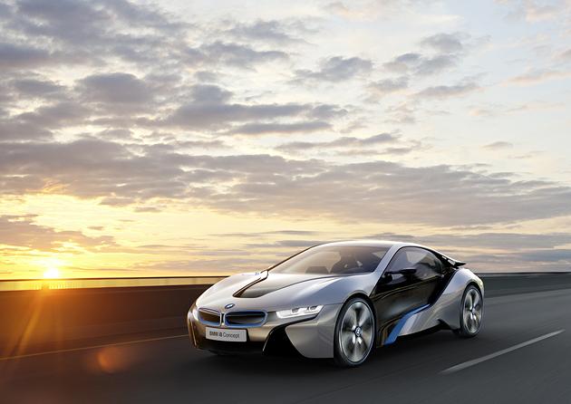 BMW i8 hibridas