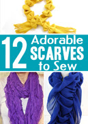 12 Scarves to Sew