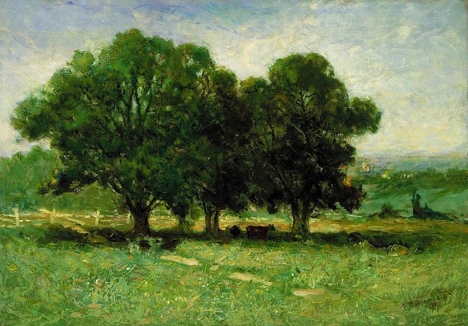 Edward Mitchell Bannister - Landscape