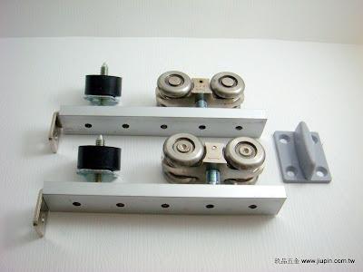 裝潢五金型號:1987A-白鐵重型吊輪載重:150KG 玖品五金