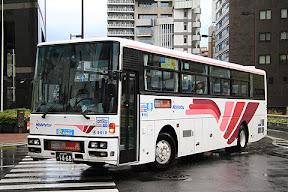 西日本鉄道「ひのくに号」 1468 スーパーノンストップ便