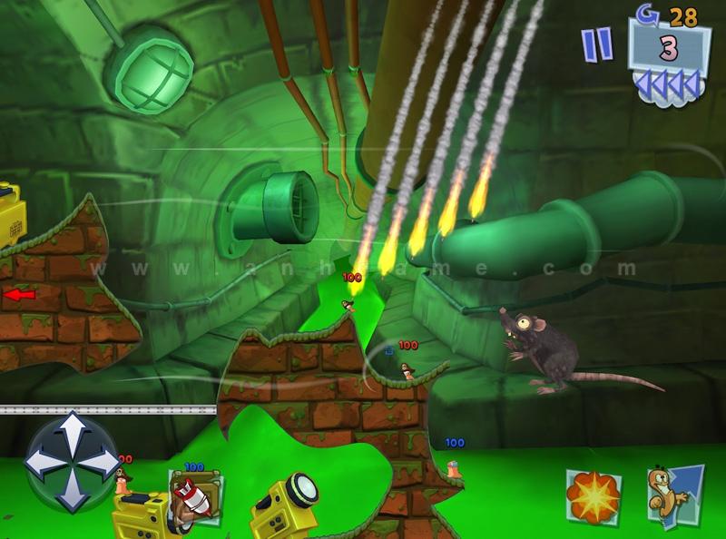 Team17 xác nhận sẽ có Worms 3 cho các thiết bị iOS - Ảnh 1