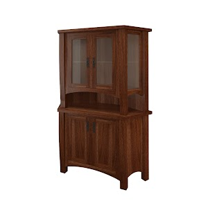 cathedral corner cabinet