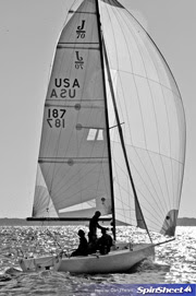 J/70 sailing fall brawl in annapolis