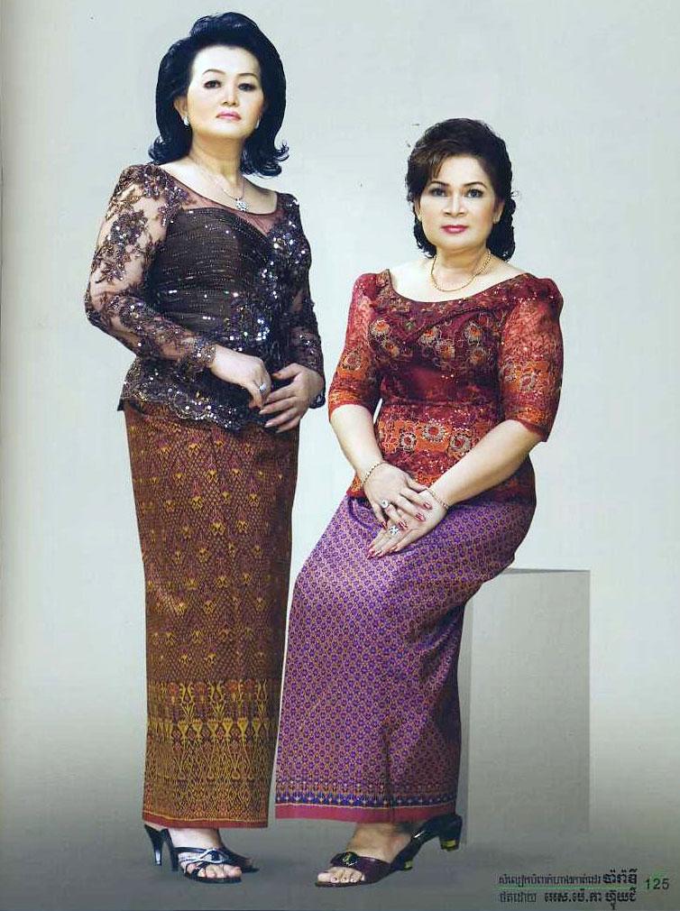 Dap News - Khmer Clothes In Cambodia Cambodian Women Clothing-1964