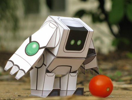 Sweet Robo Papercraft