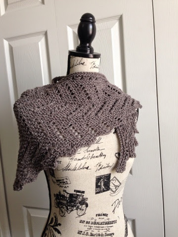 Kims Knitting Korner Definitely Diagonal Shawl