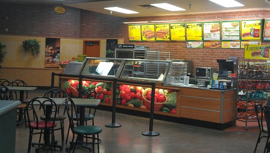 Enjoying a FROZEN Kids Meal from Subway Inside Walmart #FrozenFun #shop