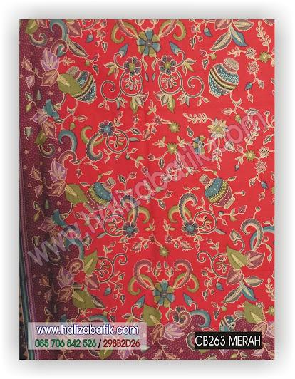 Kain Batik, Model Kain Batik, Baju Batik, CB263 MERAH