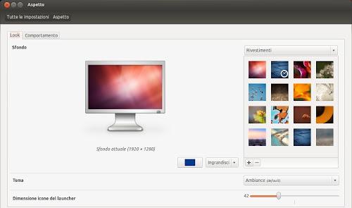 nuovi sfondi di Ubuntu 12.04