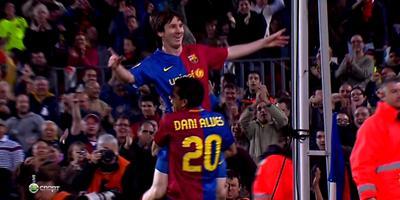 LFP-Week-28 : Barcelona 6 vs 0 Malaga 22-03-2009