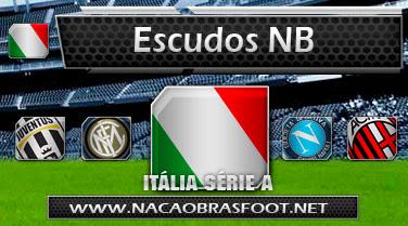Escudos NB Itália - Brasfoot2011