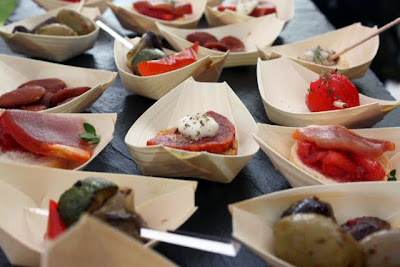 Tapas at the San Miguel tent at Taste of London