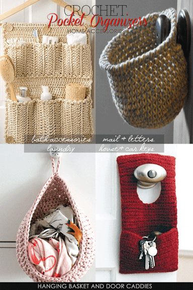 Free Crochet Patterns For Organizers : DiaryofaCreativeFanatic