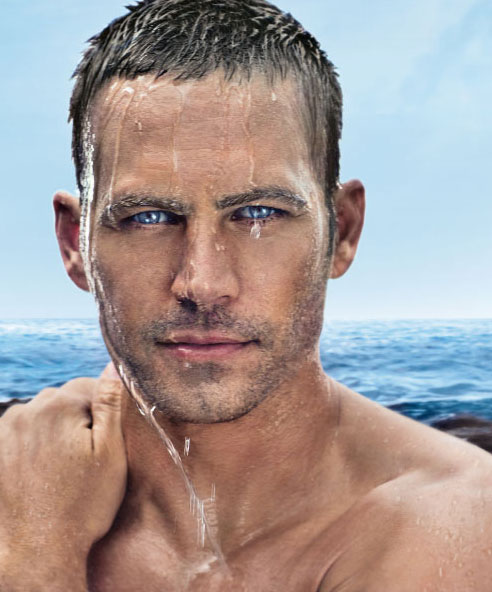 Paul Walker by Steven Klein for Davidoff Cool Water campaign, 2011